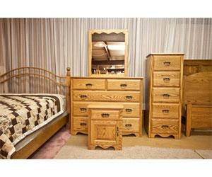 Yoder Amish Made Beds; BW ...